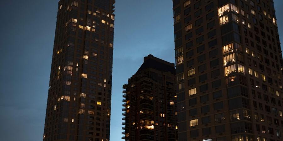 New York night sky