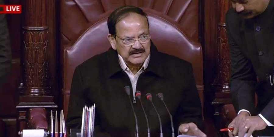 Venkaiah naidu, Rajya Sabha chairman