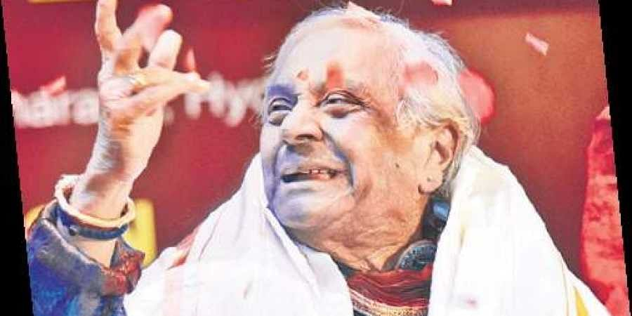 Kathak maestro Birju Maharaj enthralls city- The New Indian