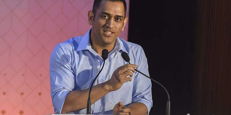 Indian cricketer MS Dhoni. (Photo | PTI)