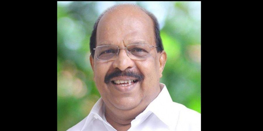 Kerala PWD Minister and CPI-M leader GSudhakaran