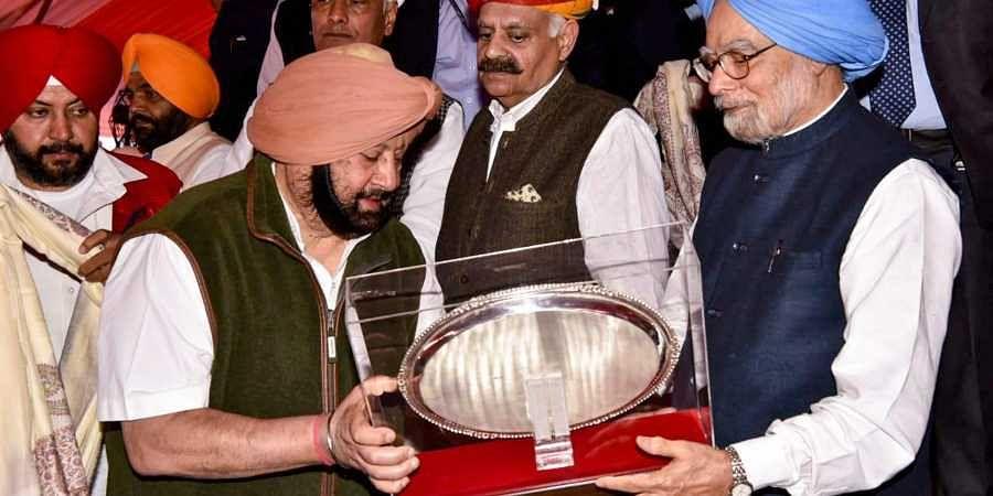 Amarinder Singh, Manmohan Singh