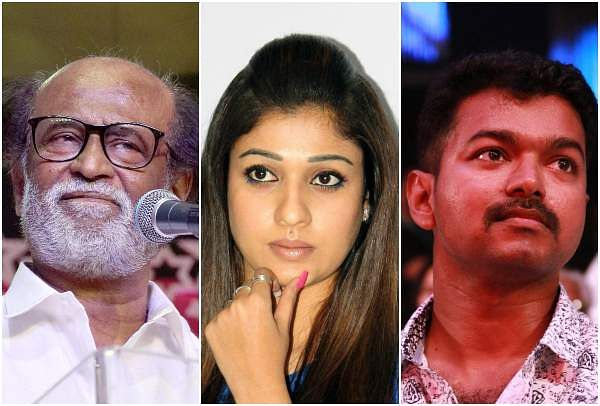 Rajini, Nayantara, Vijay