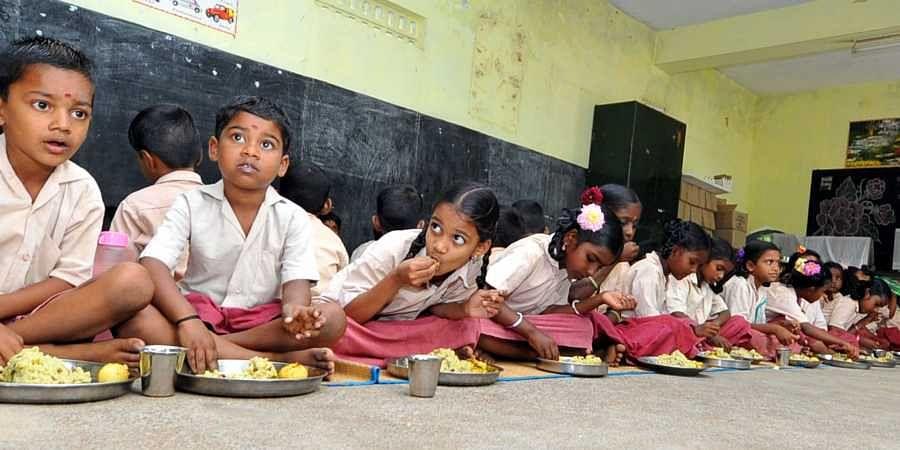 Mid-day meal, School kids, School meal