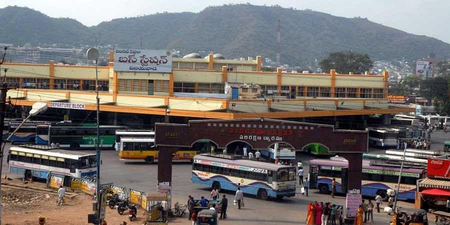 PNBS, Vijayawada bus terminus