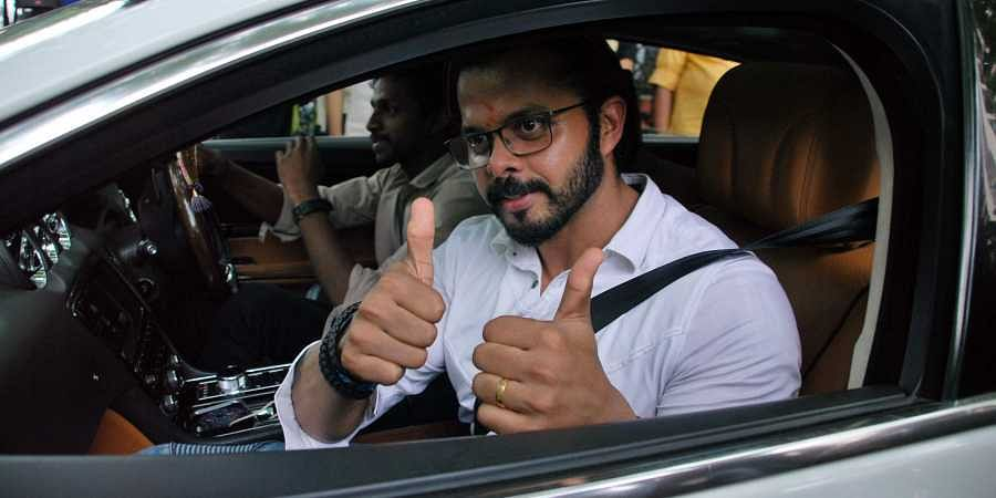 Former India cricketer S Sreesanth.  (File EPS | Shijith)