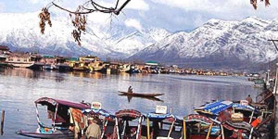 A view of the Dal lake in Srinagar. (File photo: PTI)
