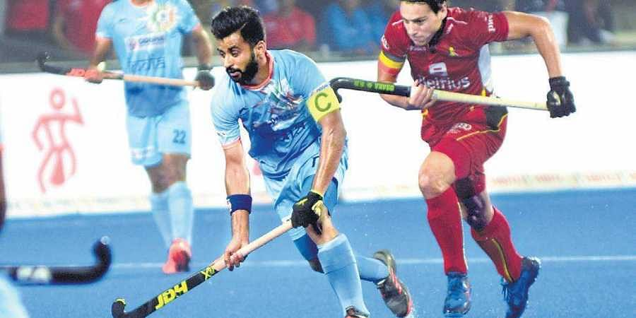 A few players including captain Manpreet Singh (L) & midfield mainstay  Kothajit Singh fell sick recently. The latter is yet to recover fully   biswanath Swain