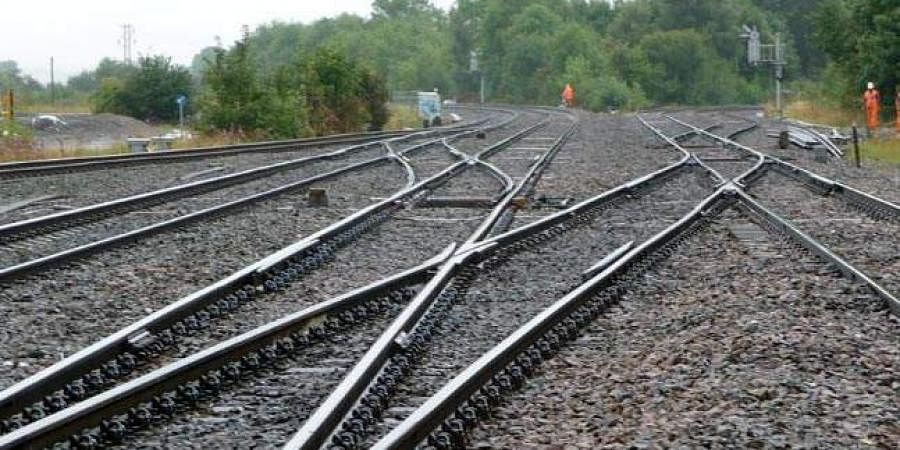 Railway track used for representational purposes only. (Photo | PTI)