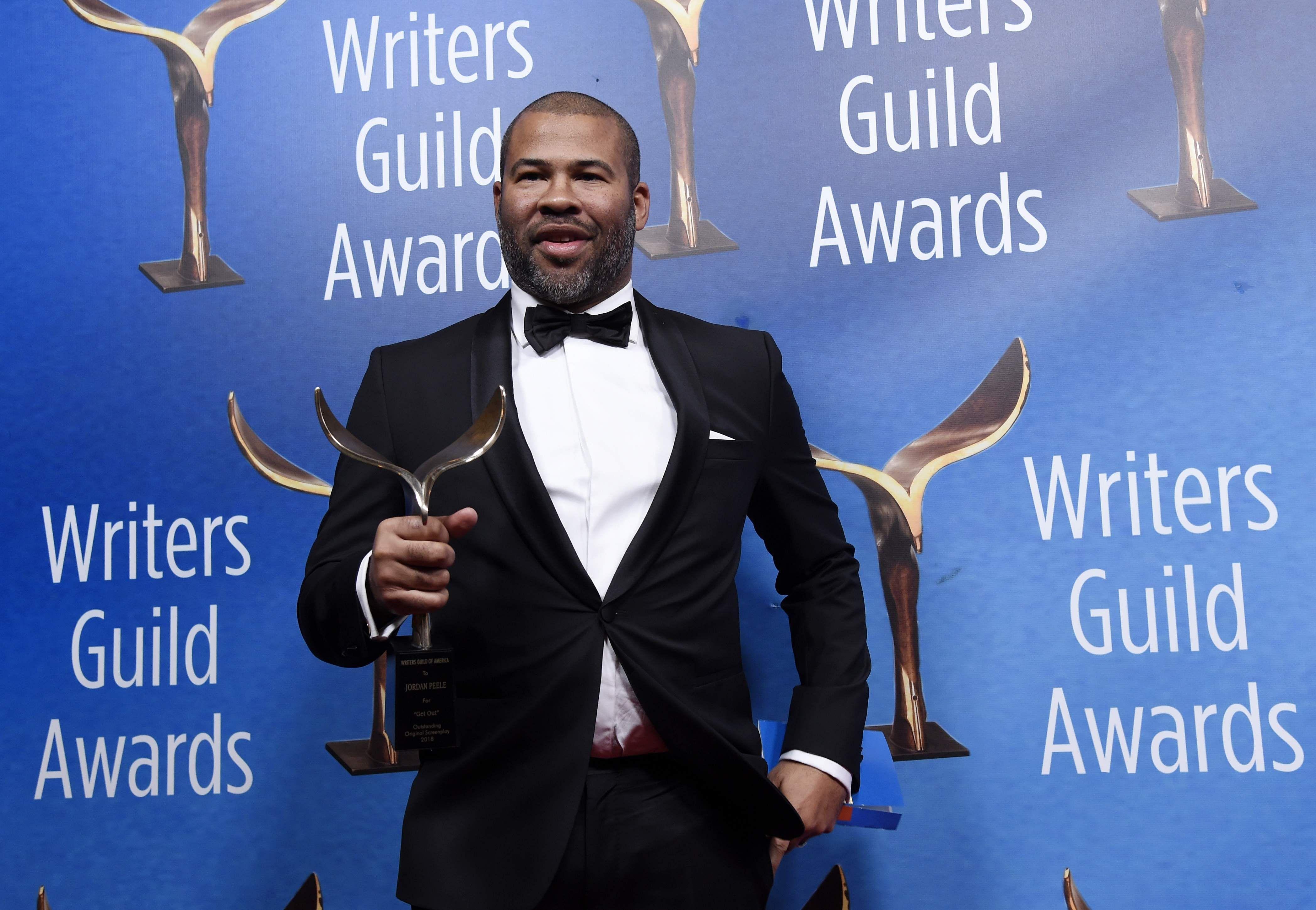 Jordan Peele wins big at Writers Guild Awards
