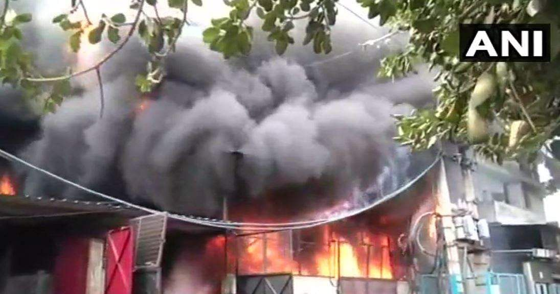 Fire breaks out in two Delhi shoe factories
