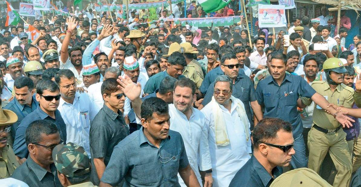 Rahul Gandhi to launch pre-election rally in Karnataka