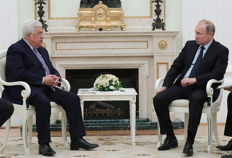 Abbas and Putin Meet to Discuss Israel-Palestine 'Peace Process'