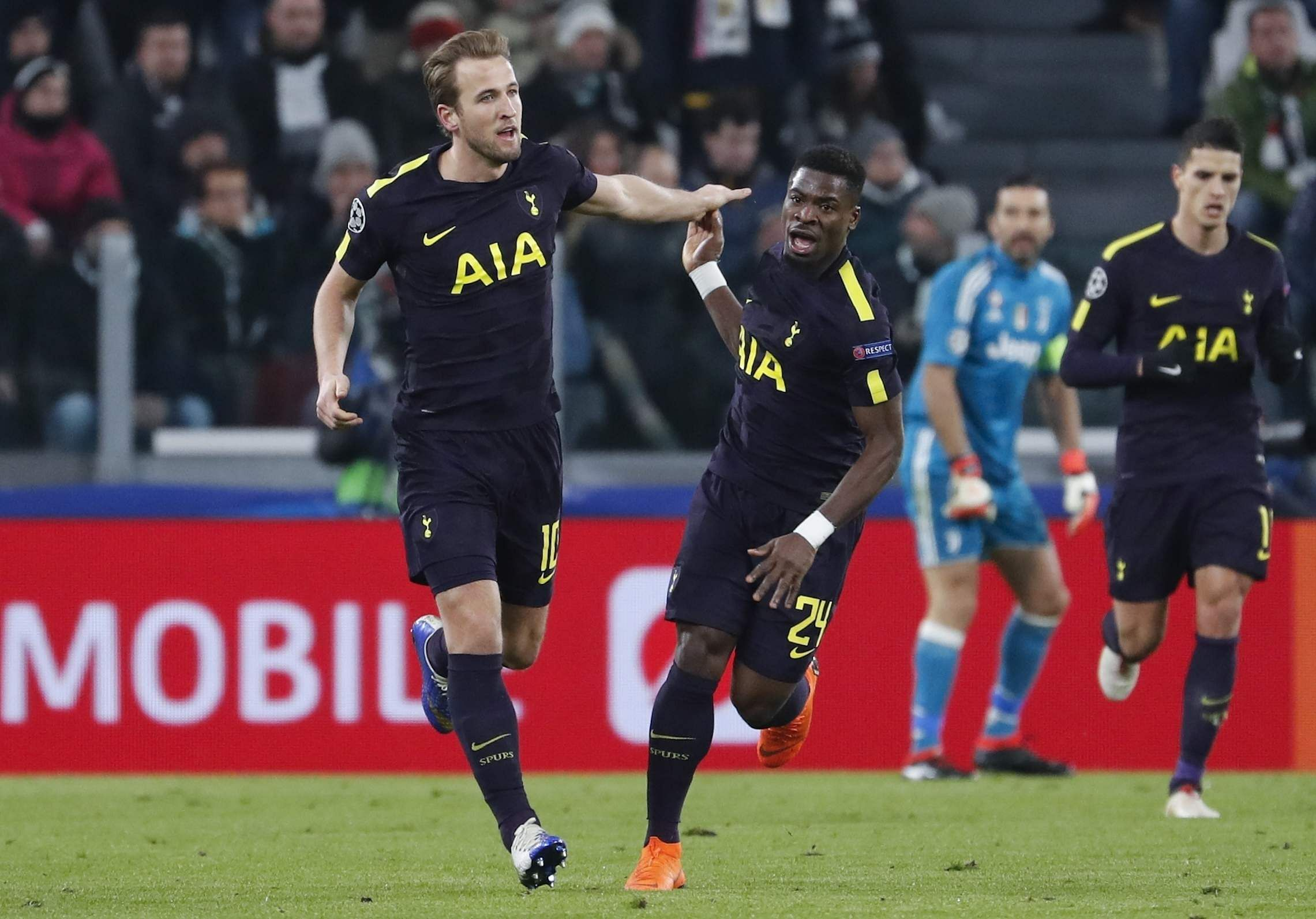 Allegri Fires Back After Draw With Tottenham