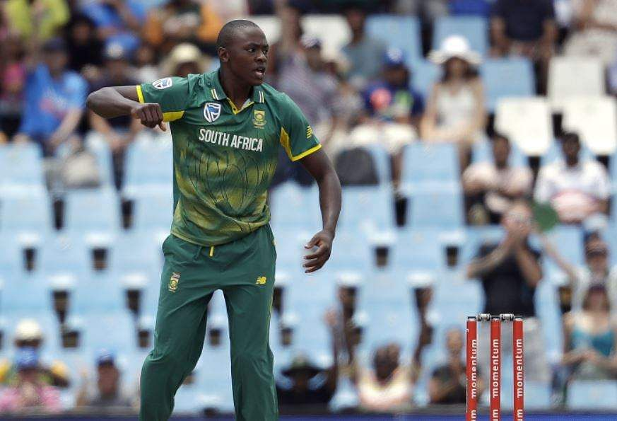 South Africa's Rabada fined for Dhawan gesture
