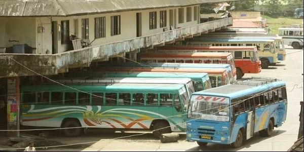 Kerala buses at the depot. | File Photo
