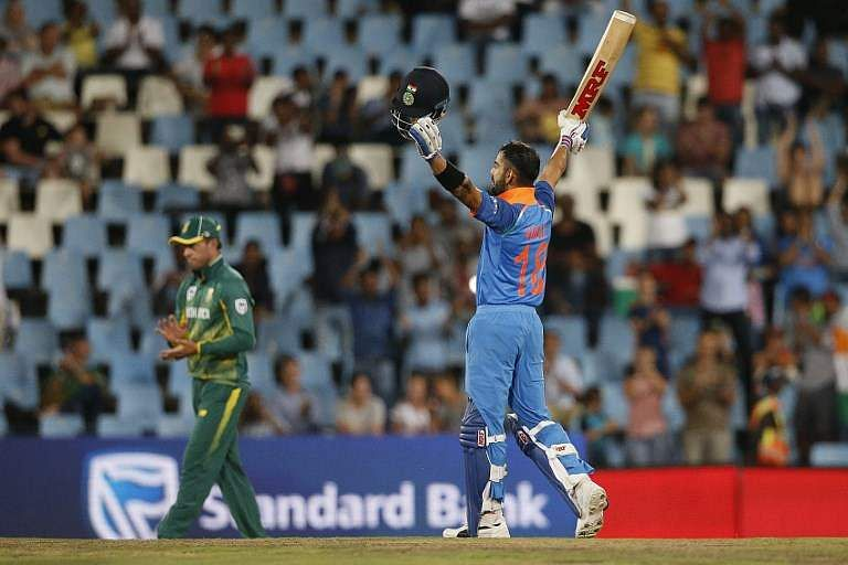 Kohli sets sights on World Cup glory after South Africa triumph