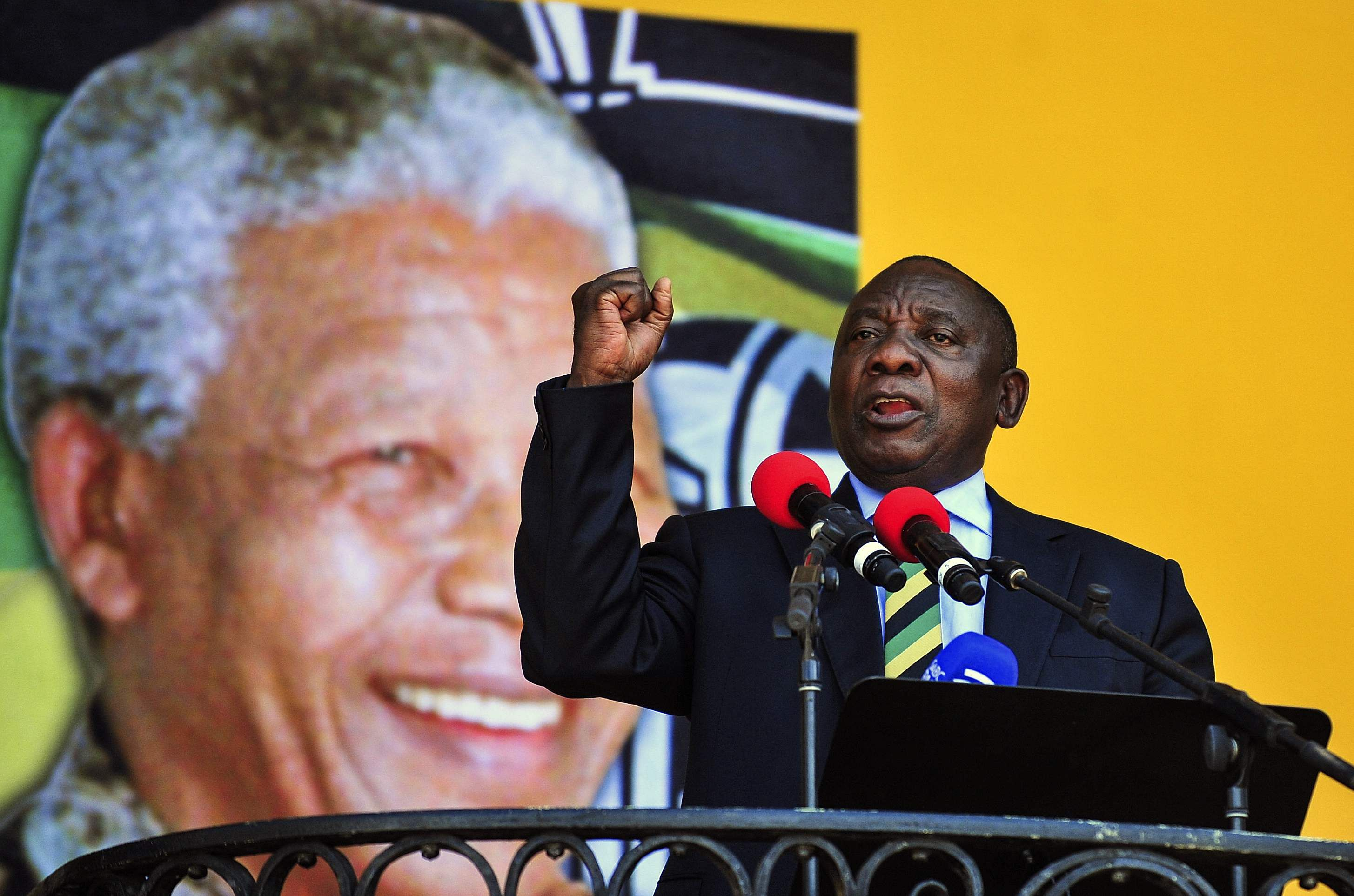 Ramaphosa Takes Oath As South Africa's President