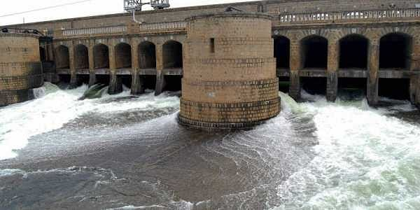Cauvery river, KRS dam, PTI photo