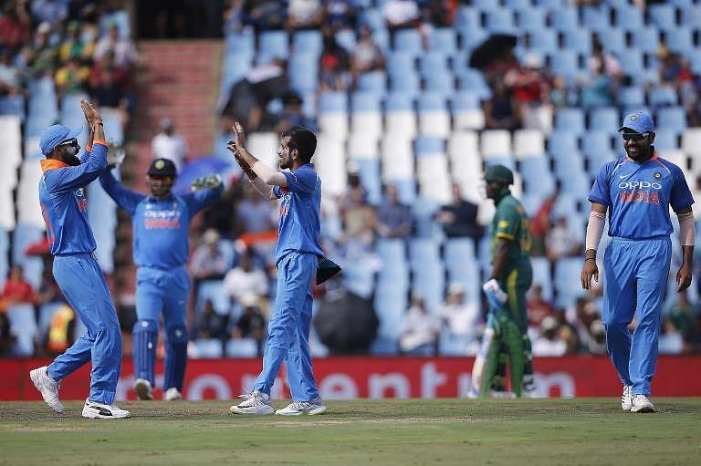 Not only was this India's first ever series win on South African soil but also their biggest ever in terms of margin outside the sub-continent. (Photo | AFP)