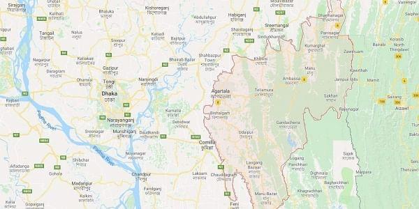 Tripura (Google Maps)