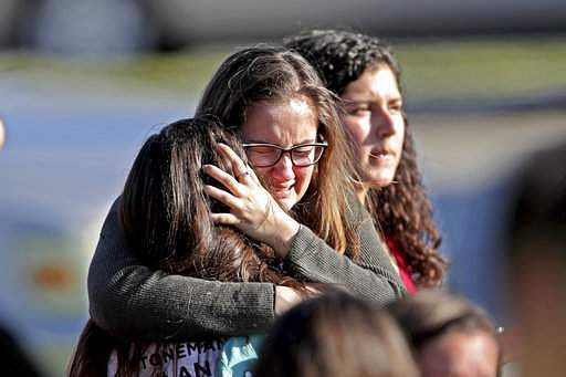 Florida school shooting: Trump visits victims in hospital, thanks medical staff