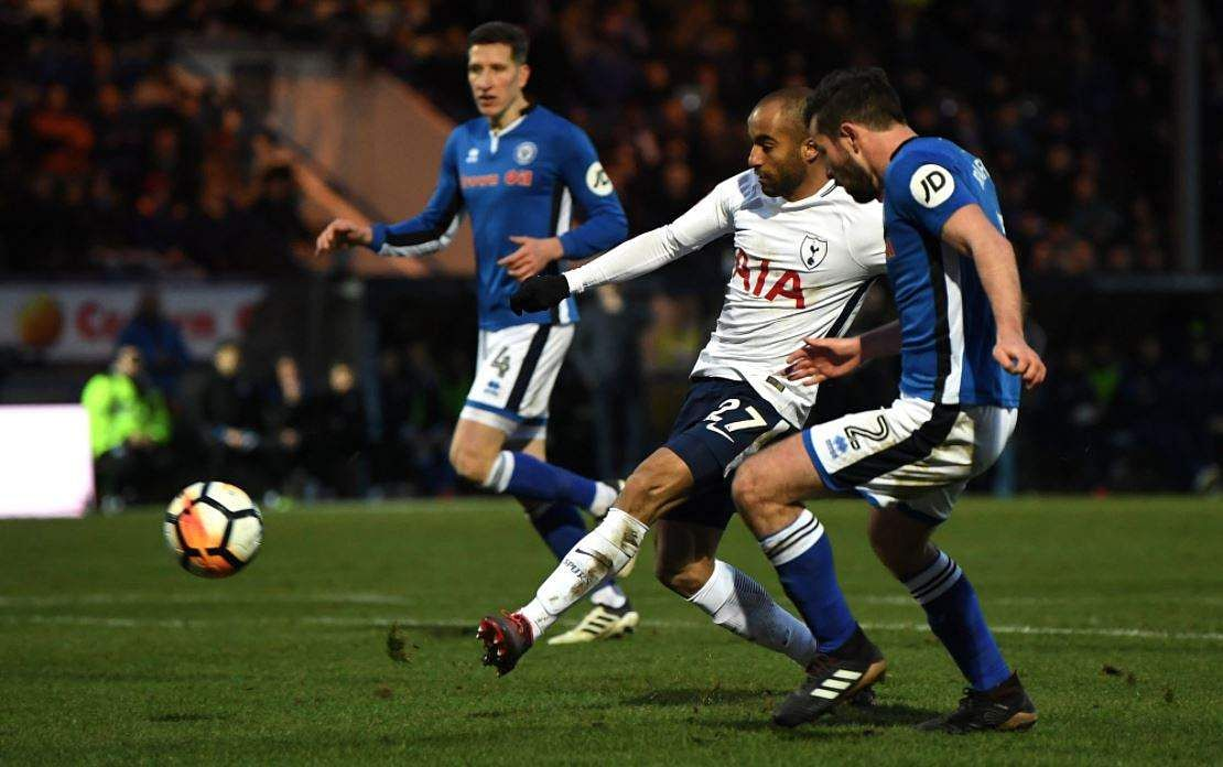 Spurs face another cup replay after being held up at Rochdale