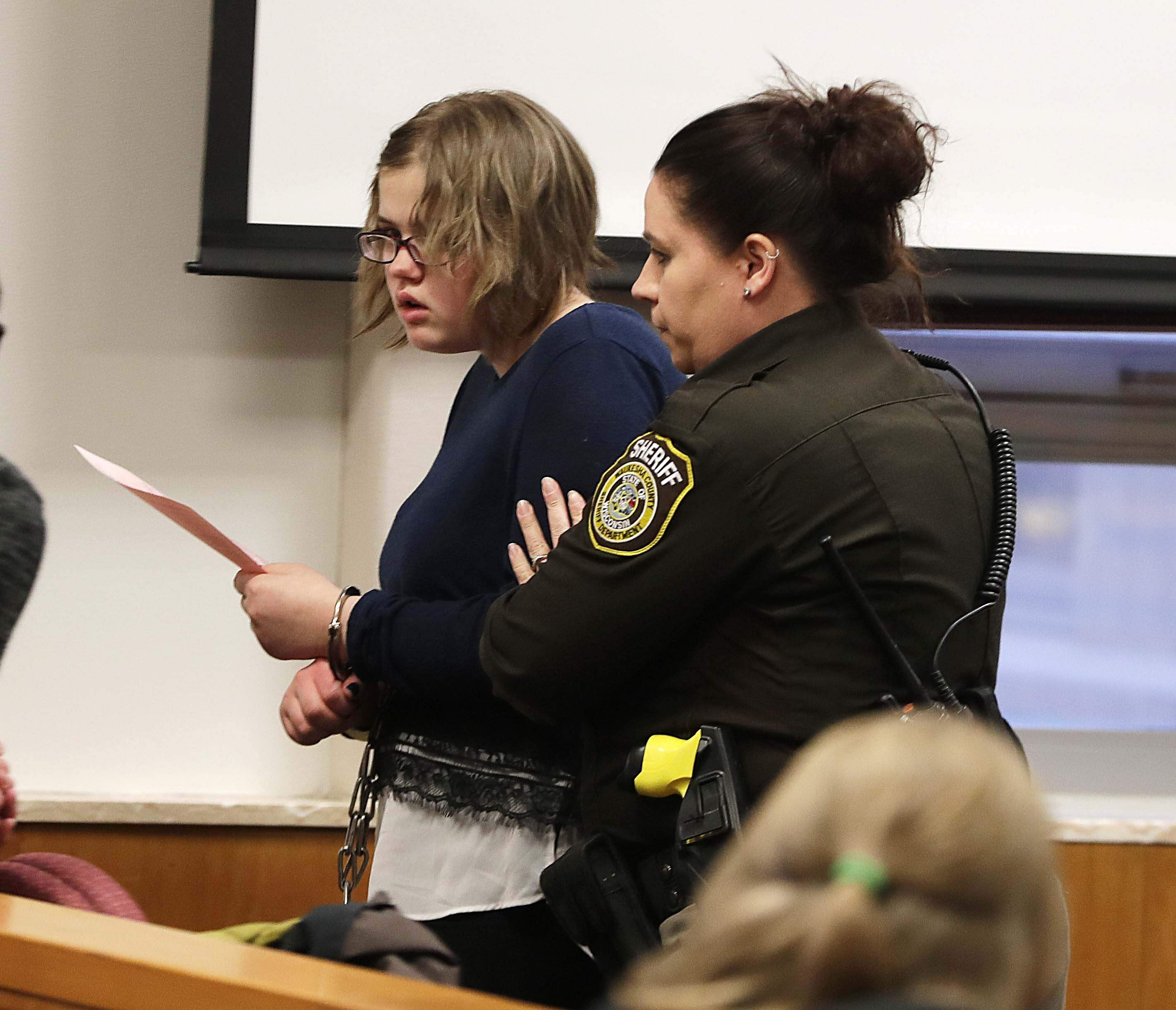 Wisconsin teen to be sentenced for Slenderman stabbing