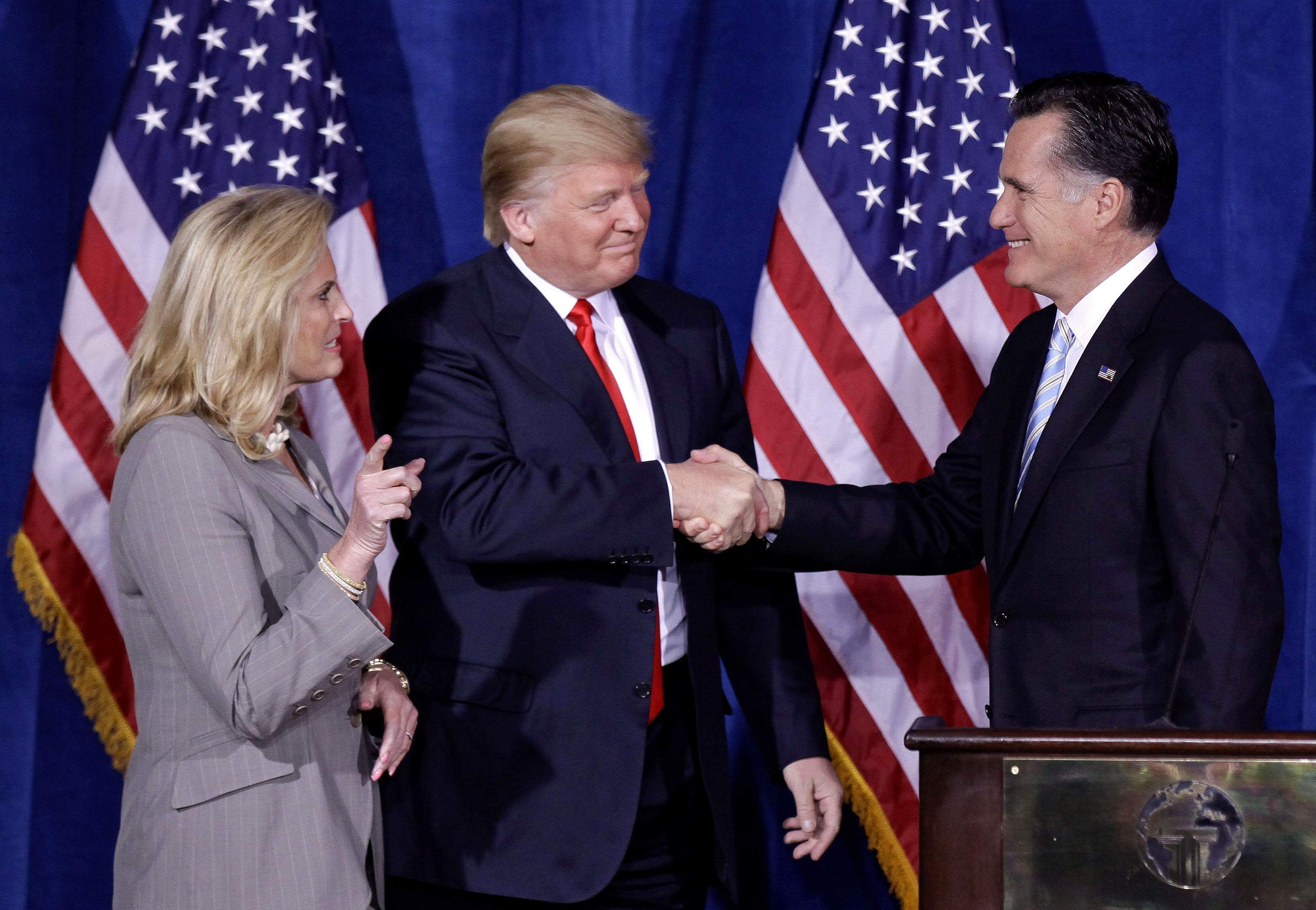 In A Surprise Move, President Trump Endorses Mitt Romney For Senate