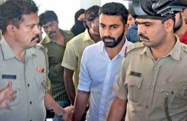 Mohammed Haris Nalapad being taken into custody after medical tests  | vinod kumar t
