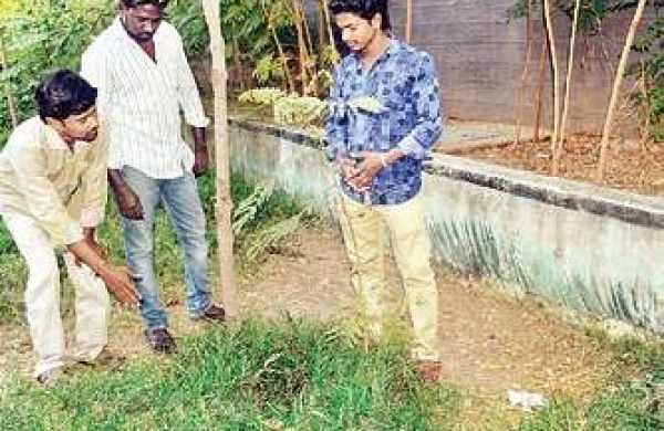 The blood stain on grass in Tower Park | D Sampath kumar