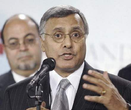 Ex Canadian Health Minister Ujjal Dosanjh | AFP