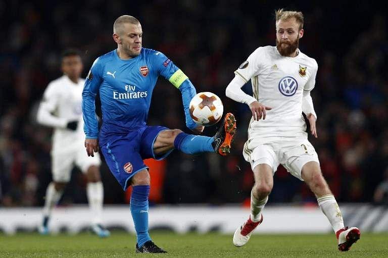Image result for Arsenal vs Ostersunds 2018/2/23