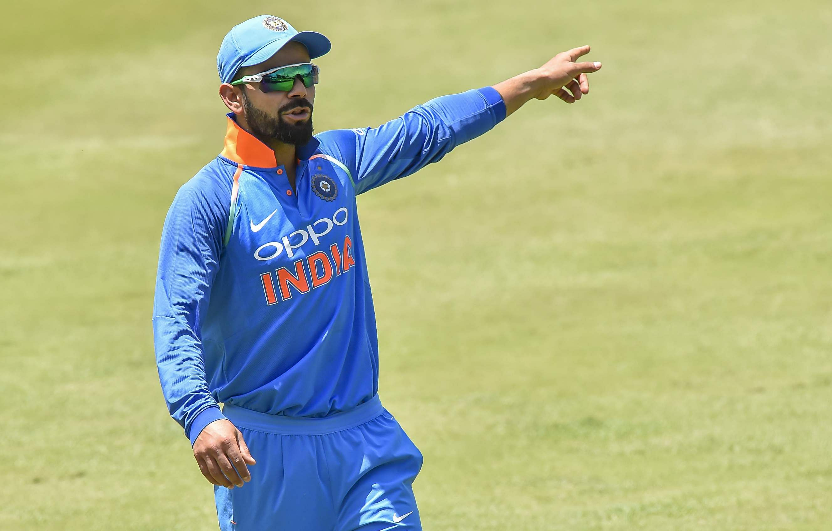 Kohli missing for India as South Africa bowl