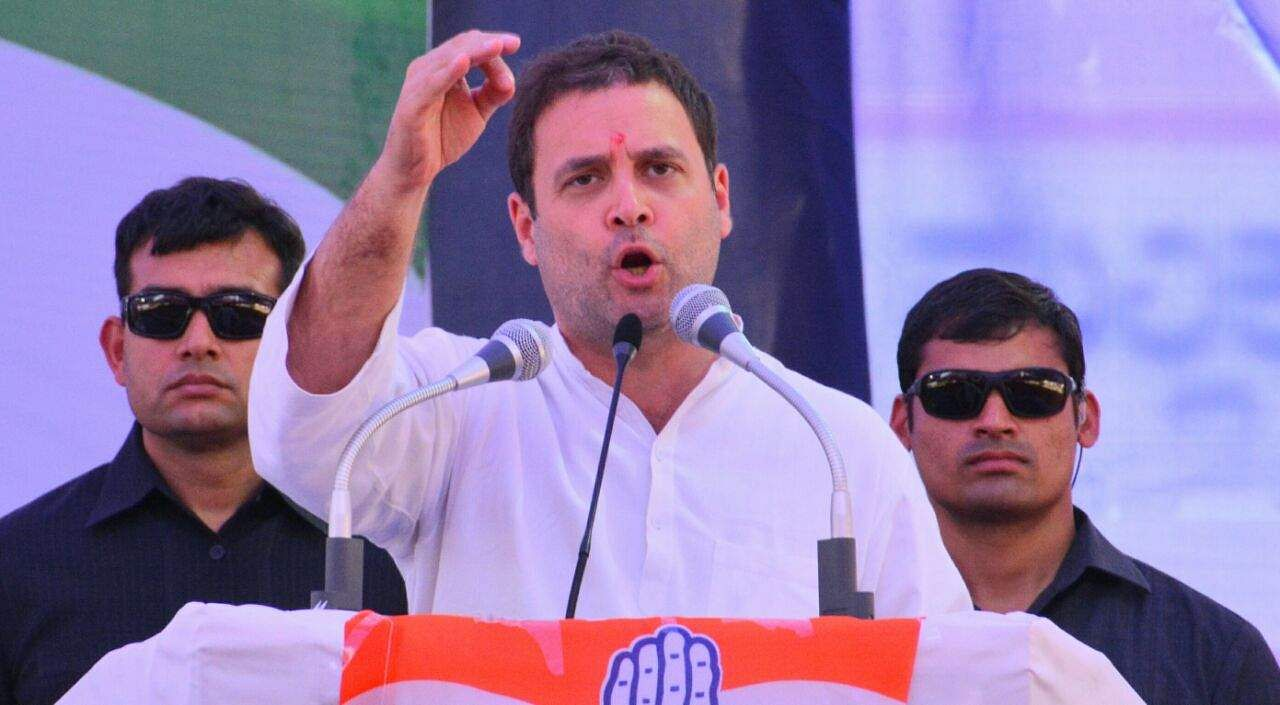 Rahul Gandhi flags off Vrukshathon in Vijayapura