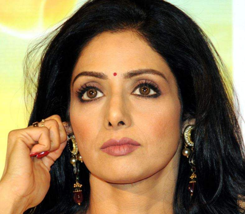 Shocking- Bollywood actress Sridevi is no more ..