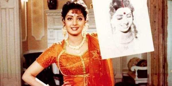 Sridevi in a movie still.
