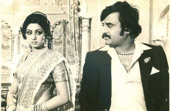 Superstar Rajinikanth and actress Sridevi in 'Aduththa Vaarisu'  directed by  SP Muthuraman which released in 1983. (File | EPS)