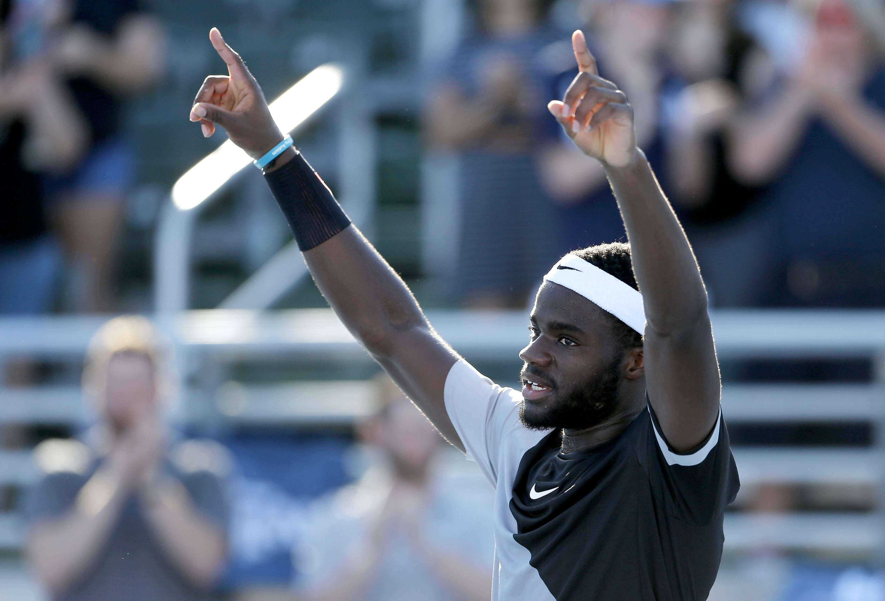 Tiafoe takes out first title in Delray Beach