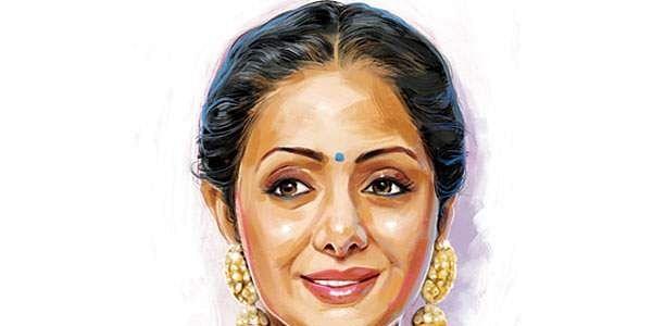 Sridevi | Illustration: Amit Bandre