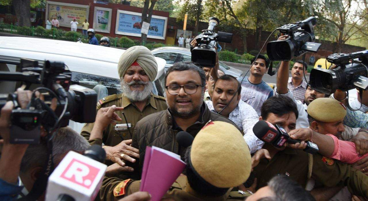 Karti sent to one-day CBI custody in INX Media case