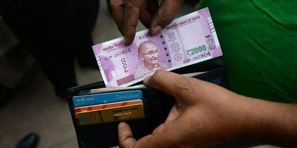 Transactions through debit and credit cards rose by merely seven per cent post demonetisation  AFP File Photo