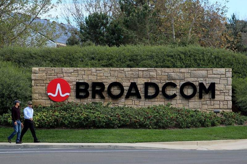 Qualcomm shares jump on talk of Broadcom raised offer