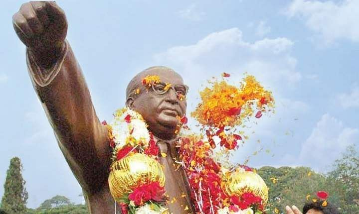 Day before Ambedkar Jayanti, another statue vandalised in UP