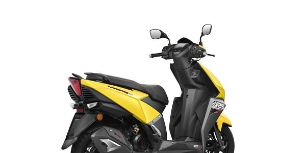 The 125cc scooter is priced at Rs 58,750 ex-showroom Delhi.    Twitter