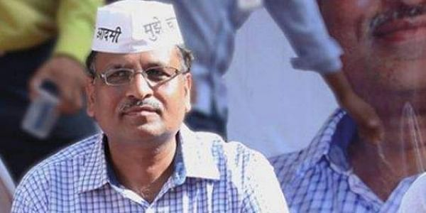 Delhi minister Satyendar Jain (File | PTI)