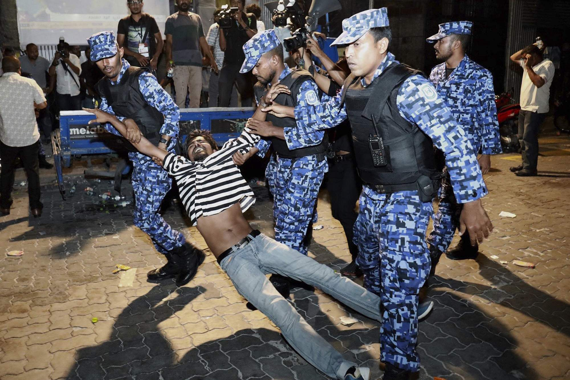 MALDIVES: State of emergency declared as crisis deepens