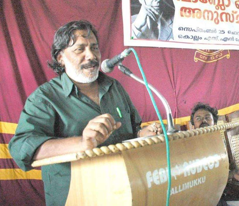 Acclaimed Malayalam poet attacked, abused by right wing activists