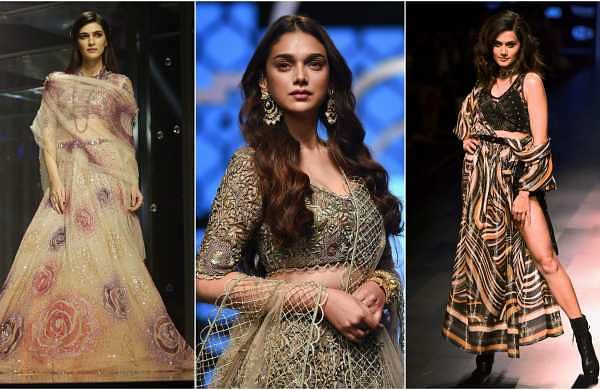 The recently concluded premier fashion event is not just known for bringing together the biggest and the newest names in fashion to display their latest ensembles. The bandwagon of Bollywood showstoppers at the Lakme Fashion Week each season gets equal at