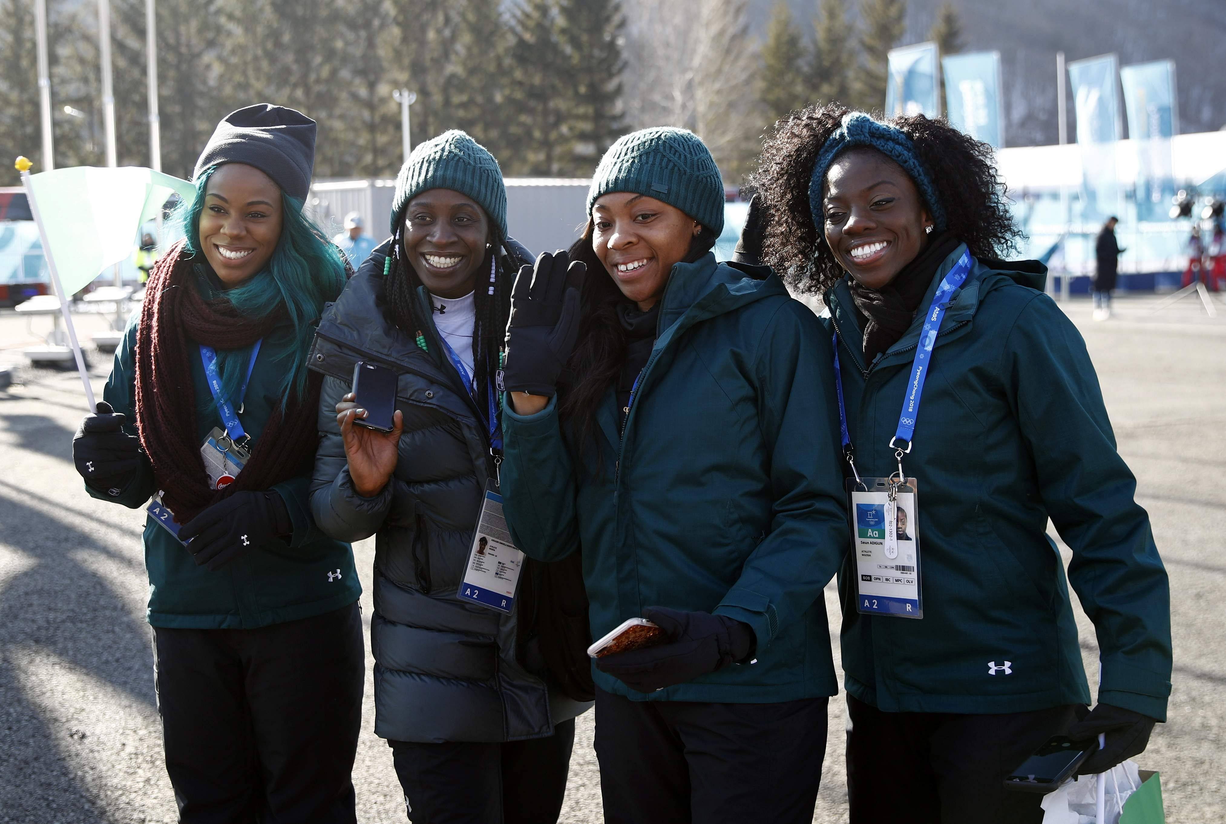'We Stand With You,' Buhari Tells Team Nigeria At Winter Olympics